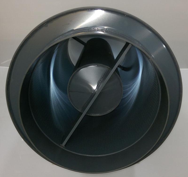 UPVC podded circular sprigot ended attenuator