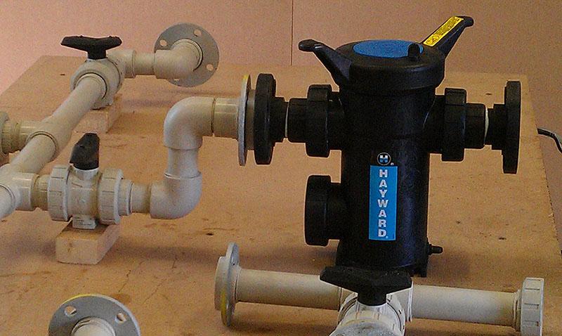 Polypropylene process pipework socket fusion welded