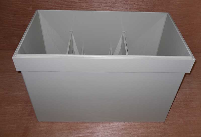 Polypropylene storage box